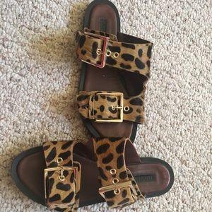 Topshop Shoes   Topshop Leopard Print